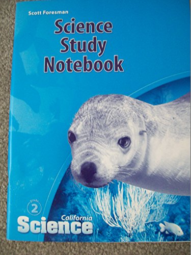 9780328236442: California Science Study Notebook Grade 2