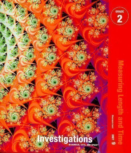 9780328237432: Investigations in Number, Data, and Space, Grade 2: Curriculum Unit 9 Measuring Length and Time Teacher's Guide