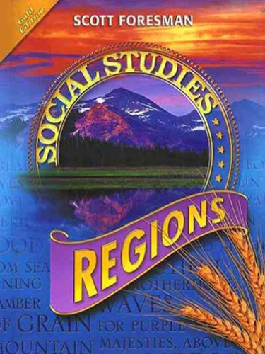 9780328239740: SOCIAL STUDIES 2008 STUDENT EDITION (HARDCOVER) GRADE 4 REGIONS