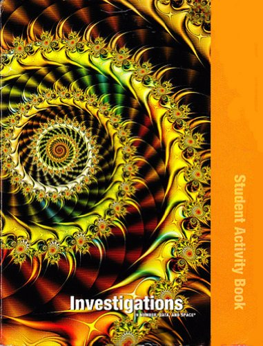 9780328240548: Investigations in Number, Data, and Space, Grade 4: Student Activity Book