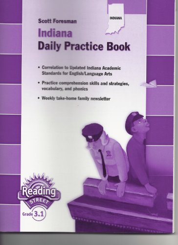 9780328245734: Reading Street Grade 4, Indiana Daily Practice Book (Reading Street)