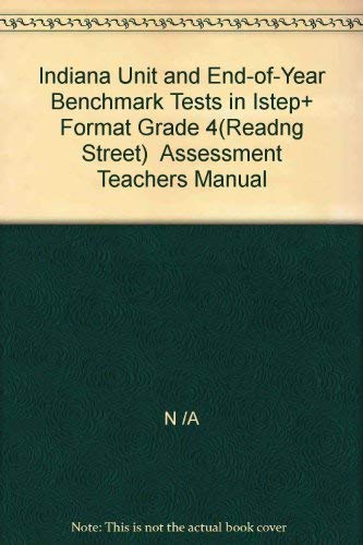 Indiana Unit and End-of-Year Benchmark Tests in: N /A