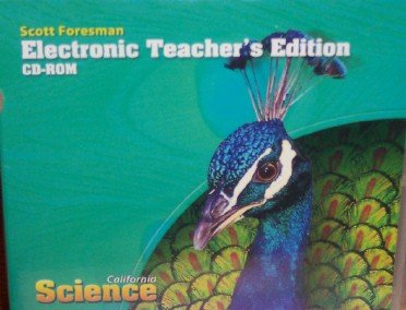 9780328259274: Electronic Teacher's Edition Grade 4 (California Science)