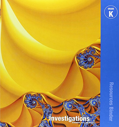 9780328259380: INVESTIGATIONS 2008 CORE CURRICULUM PACKAGE GRADE K