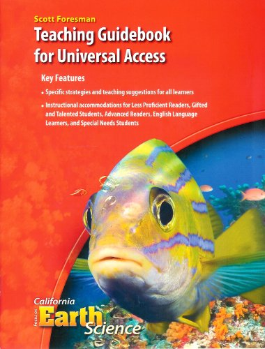 9780328260881: Teaching Guidebook for Universal Access for Focus on Earth Science, California Science Explorer (6th Grade)