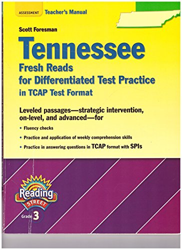 9780328260997 Tennessee Fresh Reads For Differentiated Test