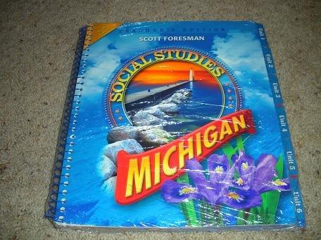 9780328262304: Social Studies Grade 4 - Michigan - Gold Edition/Teacher's Edition (Social Studies, 6 Units in spiral bound book)
