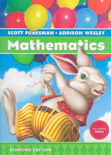 9780328263646: SCOTT FORESMAN ADDISON WESLEY MATH 2008 STUDENT EDITION (CONSUMABLE) GRADE 1