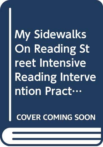 9780328272235: My Sidewalks On Reading Street Intensive Reading Intervention Practice Book Teacher's Manual Level B