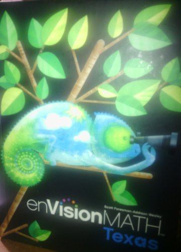 9780328272778: Envision Math 4 (TX) w/CD