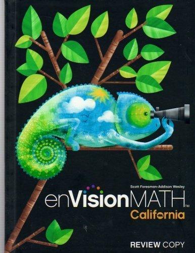 enVision Math California (Student Textbook): Randall Charles