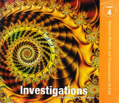 9780328275922: Investigations in Number, Data, and Space, Grade 4 Resource Masters and Transparencies