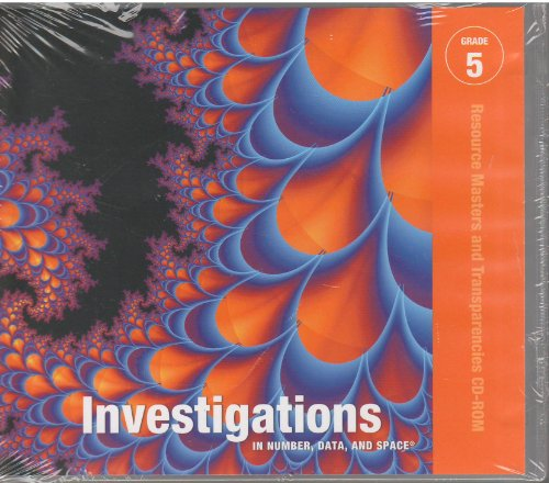 9780328275939: Investigations in Number, Data, and Space, Grade 5 (Book & CD)