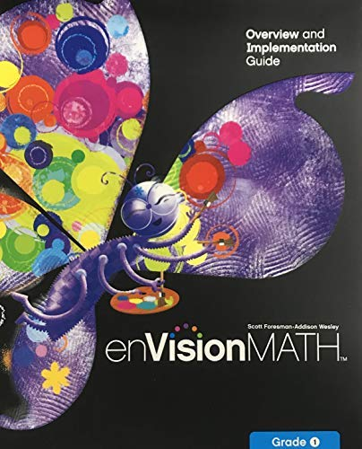 9780328282555: enVision Math, Overview and Implementation Guide, Grade 1