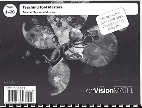 9780328283989: Pearson enVision Math Teacher Resource Masters: Topics 1-20 Teaching Tool Masters Grade 1 0328283983, 9780328283989 by Pearson Scott Foresman