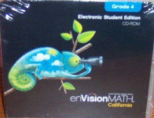 9780328295906: Electronic Student Edition Grade 4 (California enVision Math)