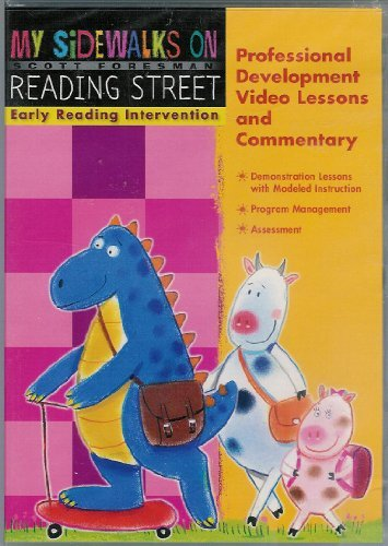 9780328304066: READING 2008 MY SIDEWALKS EARLY READING INTERVENTION PROFESSIONAL DEVELOPMENT VIDEO LESSONS AND COMMENTARY DVD GRADE K