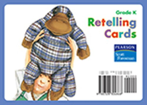 READING 2008 BIG BOOK RETELLING CARDS GRADE K: Foresman, Scott