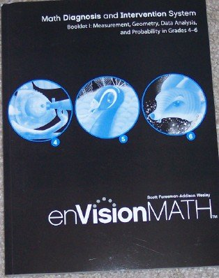 9780328311248: Booklet l: Measurement, Geometry, Data Analysis, and Probability in Grades 4-6 (enVision Math, Math Diagnosis and Intervention System)