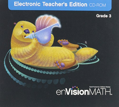 9780328322343: enVision Math: Electronic Teacher's Edition, Grade 3