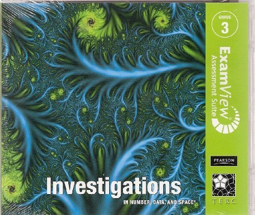 INVESTIGATIONS 2008 EXAMVIEW CD-ROM ENGLISH/SPANISH GRADE 3