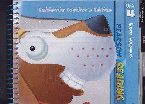 9780328340019: Pearson Reading Street, Unit 4, Grade 1: Core Lessons (California Teacher's Edition)