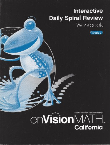 9780328340408: Interactive Daily Spiral Review Workbook Grade 2 (enVisionMATH CA)