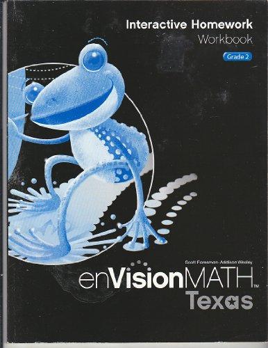 9780328341696: enVision Math Texas Interactive Homework Workbook Grade 2