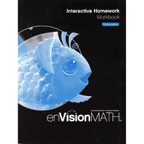 9780328341733: Math 2009 Homework Workbook Grade K