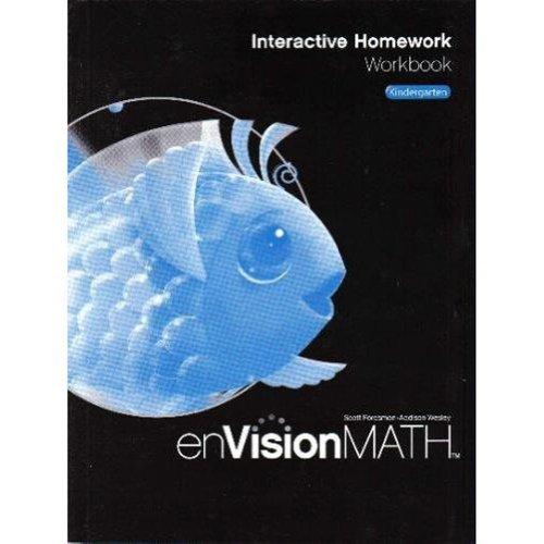 9780328341733: Envision Math: Interactive Homework Workbook, Grade K