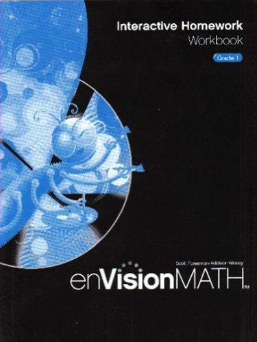 9780328341740: Math 2009 Homework Workbook Grade 1