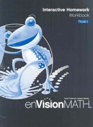 9780328341757: Math 2009 Homework Workbook Grade 2