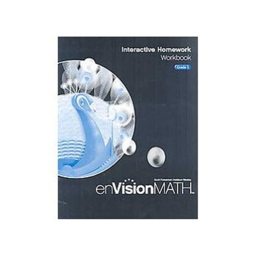 9780328341788: Envision Math 2009: Interactive Homework Workbook, Grade 5