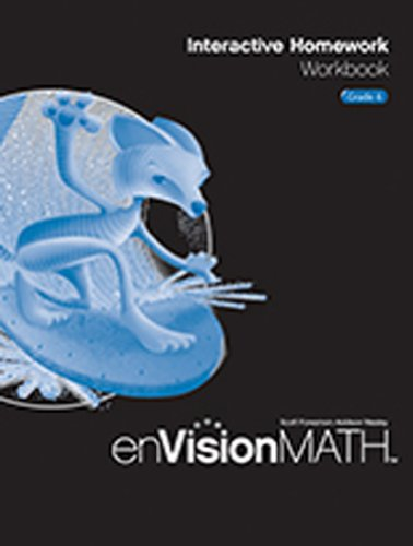 9780328341795: enVision Math: Interactive Homework Workbook, Grade 6