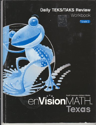 9780328343683: enVision Math Texas Daily TEKS/TAKS Review Workbook Grade 2