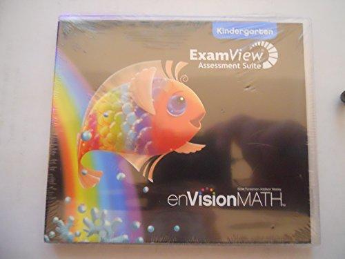 9780328343737: enVision Math, ExamView: Assessment Suite, Kindergarten
