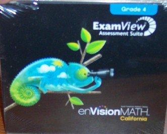 9780328343980: Exam View Assessment Suite Grade 4 (California enVision Math)