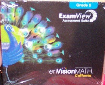 9780328343997: Examview Assessment Suite Grade 5 (enVision Math, California)