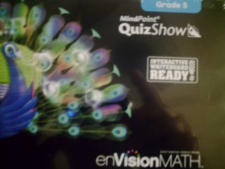MindPoint QuizShow Grade 5 CD-ROM (enVisionMATH CA)