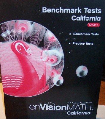 9780328344406: Benchmark Tests, California Grade 5 (enVision Math, California)