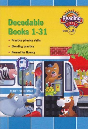 9780328378234: Decodable Books 1-31 (Reading Street Grade 1.R)