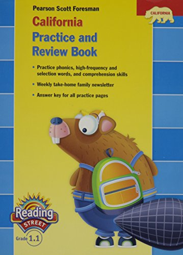 9780328382712: California Practice and Review Book, Grade 1.1 (Pearson Califormia Reading Street, Grade 1.1)