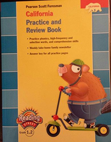 9780328382729: California Practice and Review Book, Grade 1.2 (Pearson California Reading Street, Grade 1.2)