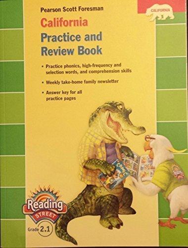 9780328382736: California Practice and Review Book, Grade 2.1 (Reading Street Grade 2.1)