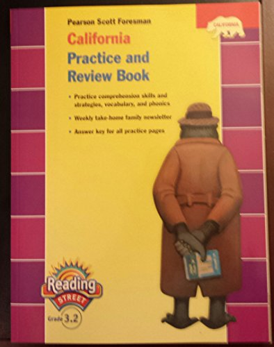 9780328382767: Pearson Scott Foresman California Practice and Review Book (Pearson California Reading Street, Grade 3.2)