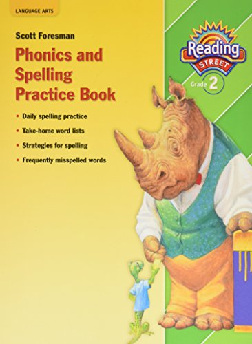 9780328382989: READING 2010 (AI5) PHONICS AND SPELLING PRACTICE BOOK GRADE 2