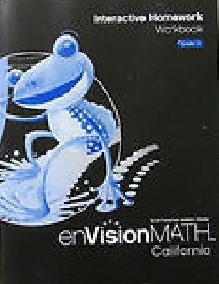 9780328384426: Interactive Homework Workbook Grade 2 (enVisionMATH CA) by Charles (2009-05-03)