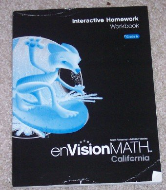 Interactive Homework Workbook Grade 6 (enVision Math)