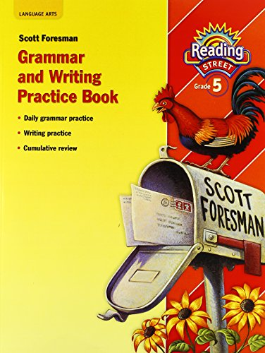9780328389438: READING 2010 (AI5) GRAMMAR AND WRITING PRACTICE BOOK GRADE 5
