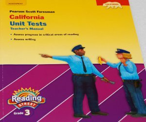 9780328390489: Pearson Scott Foresman California Unit Tests (Reading Street, Teacher's Manual, Grade 3) by Pearson Scott Foresman (2010-05-03)